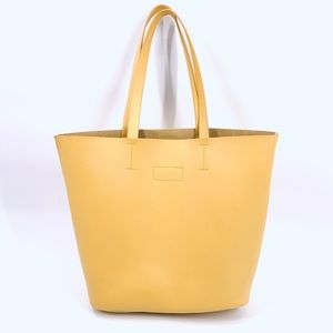 Neiman Marcus Bags - Neiman Marcus Large Yellow Tote Bag
